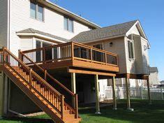 st floor sunroom  deck  walkout basement  dream home pinterest walkout basement
