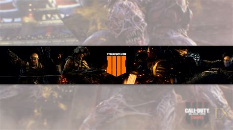 call  duty black ops  youtube channel art banner