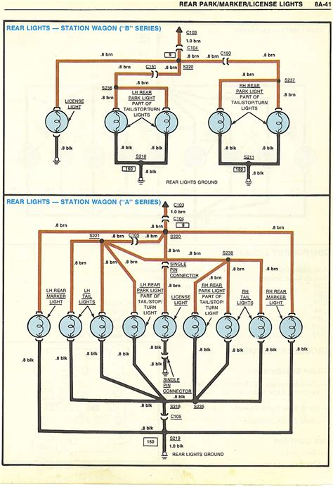 68 Camaro Dome Light Wiring Diagram by Wagon License Plate Light Wiring Gbodyforum 78 88