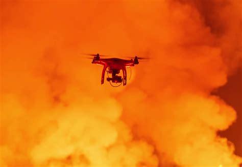 stunning drones eye    erupting volcano  ice