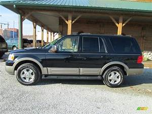 Black Clearcoat 2003 Ford Expedition Eddie Bauer 4x4 Exterior Photo  88356457
