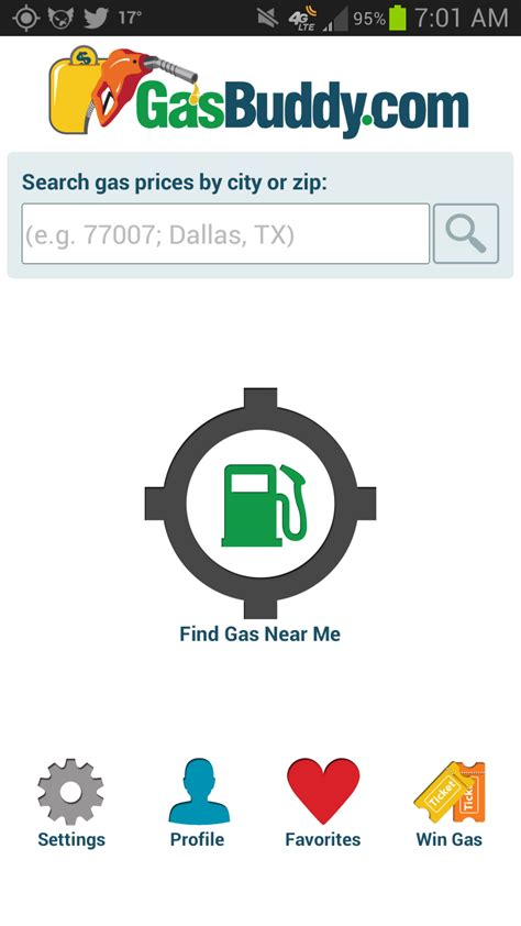 gasbuddy app android stl tech talk page not found