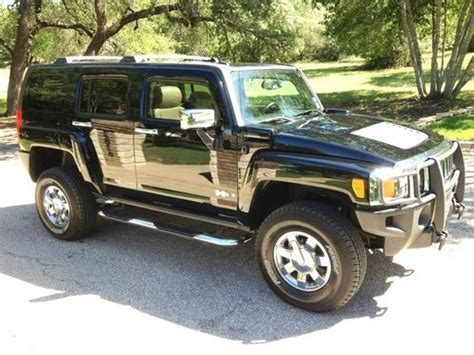awesome hummer car buy used awesome 2006 hummer h3 with luxury package in