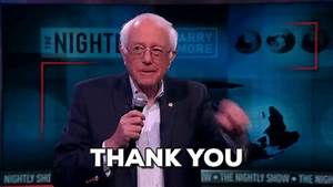 Bernie Sanders Thank You GIF by The Nightly Show - Find ...
