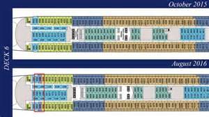 revised deck plans reveal additional disney enhancements the disney cruise line