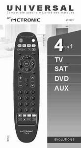 Metronic 4 In 1   Remote Control