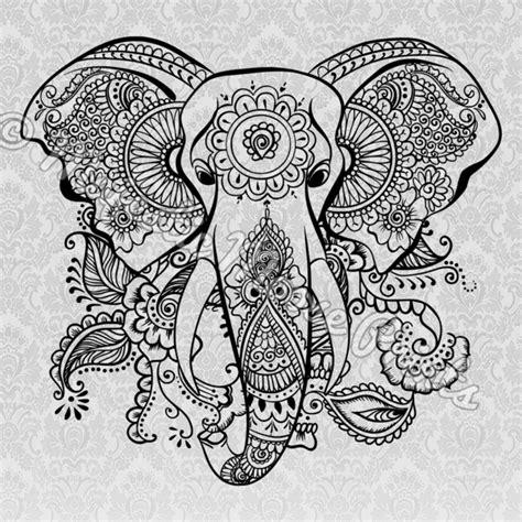 mandala clipart elephant mandala elephant transparent