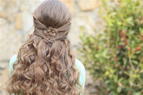 Half up Half down Wedding Hairstyle Ideas for Short Hair