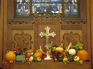 Thanksgiving Church Decor Ideas on Pinterest