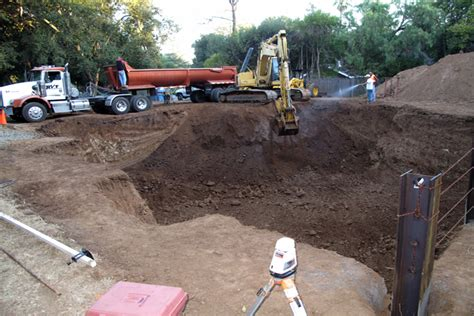 Basement Excavation — Tim Hilleary Construction