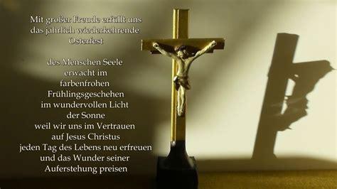 frohe ostern christliche gedichte youtube