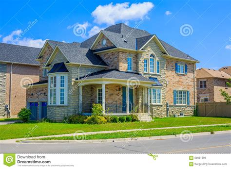 luxury houses  north america stock image image  living entrance