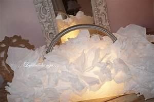Abat Jour Nuage : lampe sac nuage confection sur mesure lafilleduhangar ~ Teatrodelosmanantiales.com Idées de Décoration