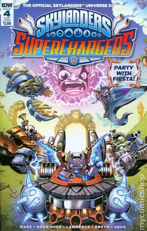 skylanders superchargers  comic books