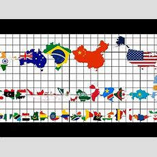 Country Size Comparison (all 195 Flag Map Ranking) Youtube