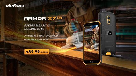 ulefone x7 pro armor rugged pre order launched today advertisement gizchina