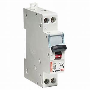 Disjoncteur Pour Vmc : disjoncteur phase neutre legrand 16 a leroy merlin ~ Premium-room.com Idées de Décoration