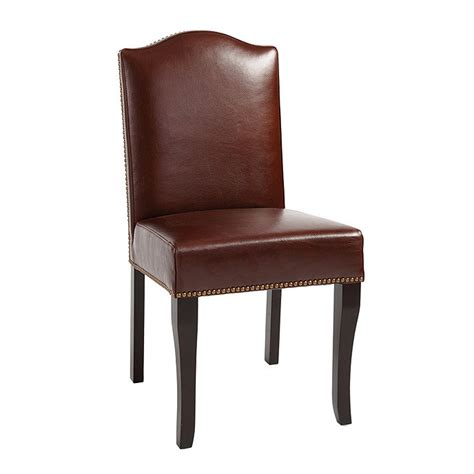 kingsley leather dining chairs set of 2 ballard designs