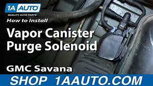 How To Replace Vapor Canister Purge Solenoid 03