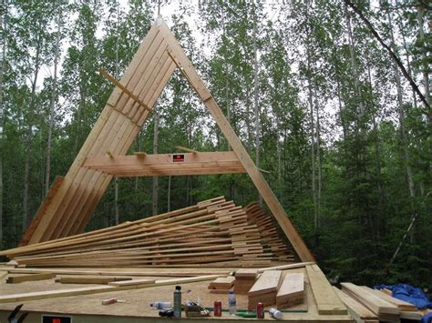 Building An A Frame Cabin by 1000 Ideas About A Frame Cabin Plans On A