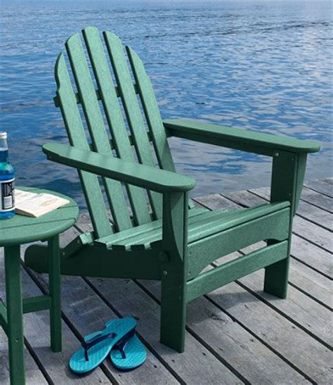 l l bean all weather adirondack chair l l bean green