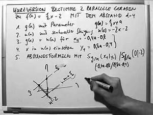 Abstand Zweier Funktionen Berechnen : msa 17 lineare funktionen mathematische grundlagen lernwerk tv ~ Themetempest.com Abrechnung