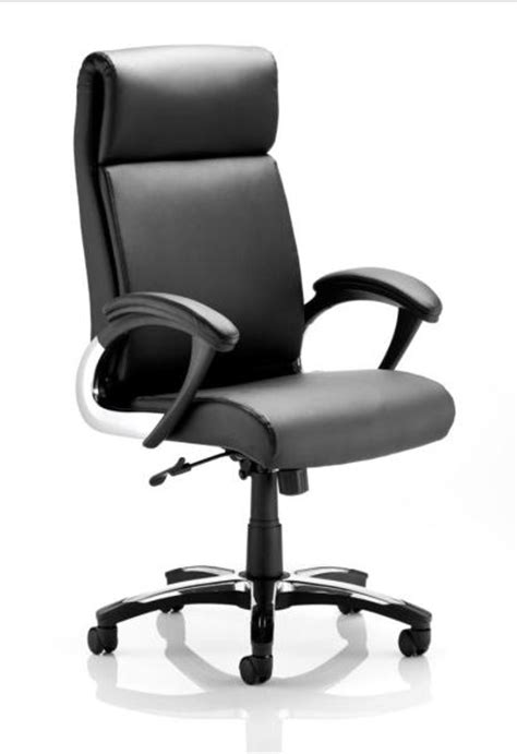 italian style leather high back managers office chair