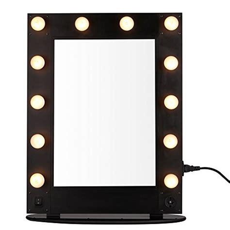 professional makeup vanity with lights hollywood vanity makeup mirror 12 led bulb lights