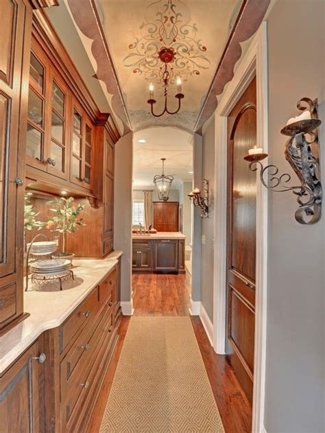 houzz hallway butlers pantry design ideas remodel pictures