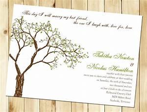 wedding invitation wording wedding invitation templates tree With free wedding invitation templates tree