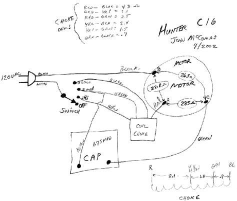 Hunter Zephair Speed Fan Wiring Problem Post
