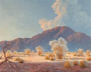 John William Hilton, American / California; Oil on Panel ...
