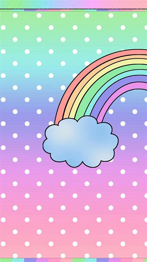 cute rainbow iphone wallpapers top  cute rainbow