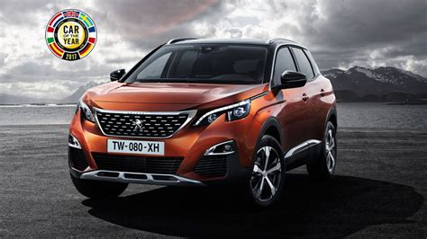 peugeot car of the year to peugeot 3008 car of the year 2017 peugeot 3008