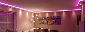 Led Indirekte Beleuchtung Decke : led stuckleisten f r indirekte beleuchtung von wand und decke bendu ~ Frokenaadalensverden.com Haus und Dekorationen