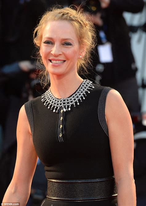 What Does Wps Stand For by Uma Thurman Rocks Striking Cream Hat Reminiscent Of A Puff