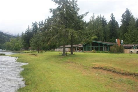 Log Cabin Resort by Log Cabin Resort Olympic National Park Wa Cground