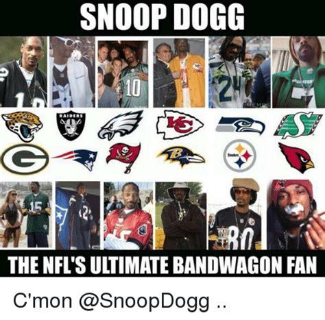 Nfl Bandwagon Memes - snoop dogg the nfl su timate bandwagon fan c mon football meme on sizzle