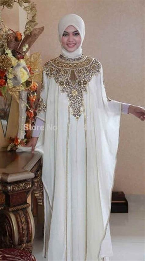white formal party wear abaya  hijab styles fashioneven