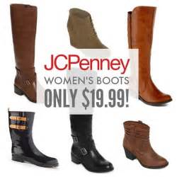 womens boots jcpenney jcpenney 39 s boots sale as low as 19 99