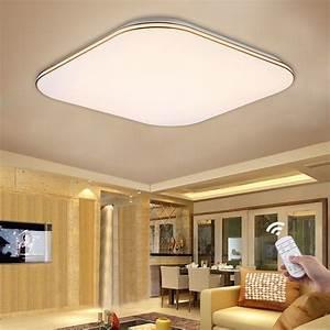 Bright w led ceiling down light flush mount kitchen