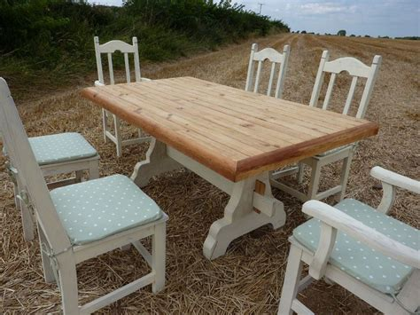 rustic outdoor dining set painted vintage antique
