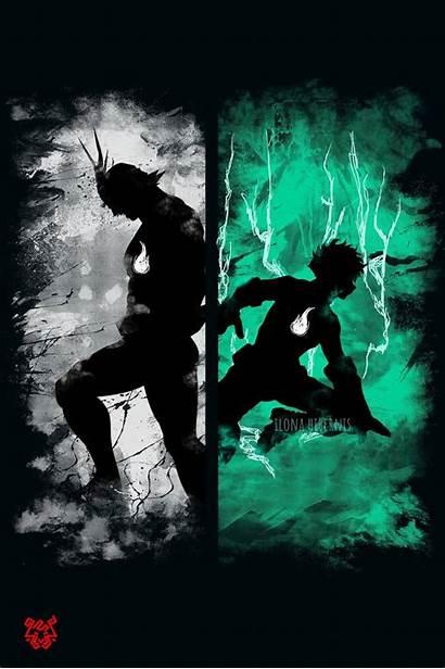 Deku Might Hero Academia Poster Zedge Episodes