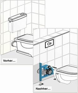 Backofen Reinigen Vorher Nachher : wc austauschen toilette einbauen so geht 39 s ~ Markanthonyermac.com Haus und Dekorationen