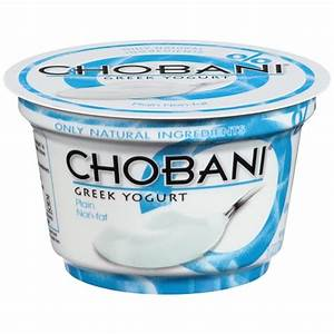 Chobani Greek Yogurt Plain - #1 Grocery Delivery Service ...