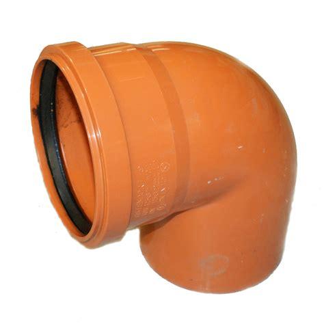 kg rohr dn kg rohr bogen dn 250 87 grad abwasserrohr kanalrohr orange