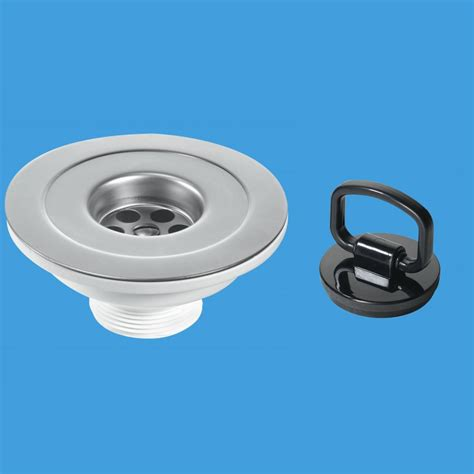 mcalpine bswp     mm flange sink waste outlet