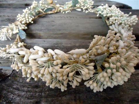 Victorian Crown Head Wreath Bridal Hair Wreath By