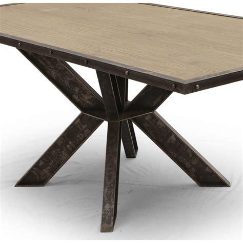 canapé angle droit table salle à manger industriel york pied central ipn