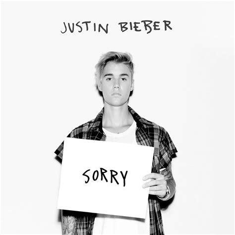 Justin Bieber: Sorry, la portada de la canción